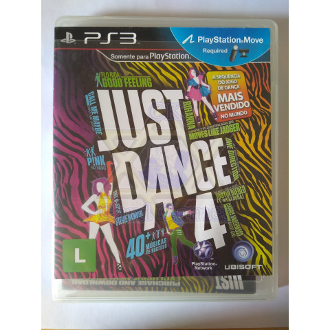 Just Dance 4 - Jogo - PS3 (Seminovo)