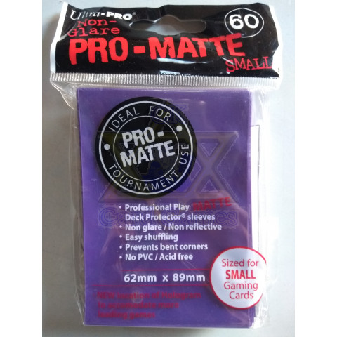 UP Sleeve Avulso P Matte Purple 62x89mm