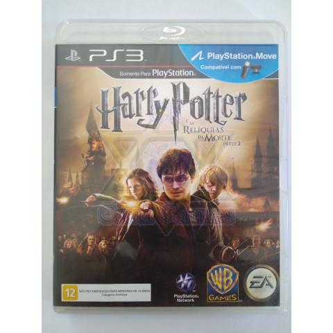 Harry Potter e as Relíquias da Morte: Parte 2 - Jogo - PS3 (Seminovo)