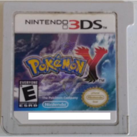 Pokémon Y - Jogo - 3DS (Seminovo) (somente cartucho sem a capa)