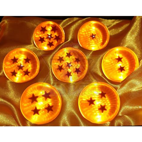 Esferas do Dragão 3,5cm - Caixa - Dragon Ball 18x16,1x4,9cm