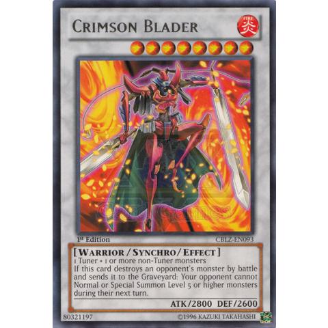 Laminador Carmesin / Crimson Blader 90%