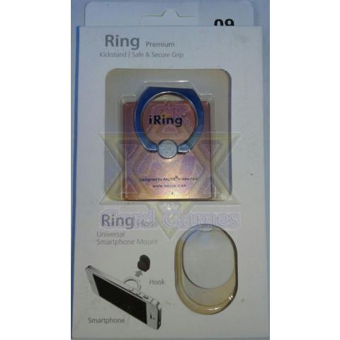 Laranja Coral - Anel Suporte Telefone Celular - iRing
