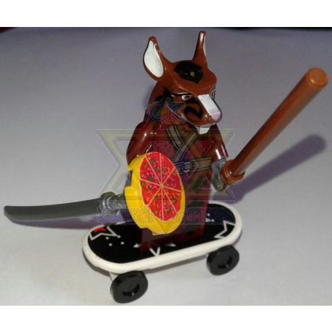 Mestre Splinter - TMNT - Miniatura - Blocos