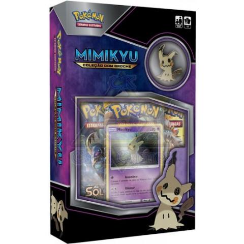 Mimikyu Coleção com Broche Minibox
