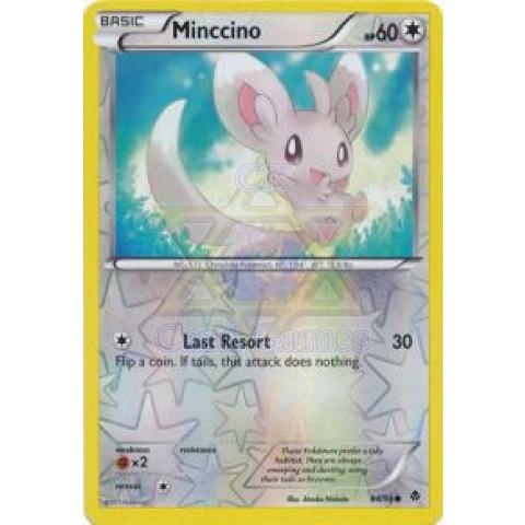 Minccino 84/98 Reverse Holo (BW 2: Emerging Powers)