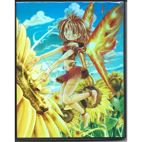 MP 4 Pocket Portfolio Flower Angel