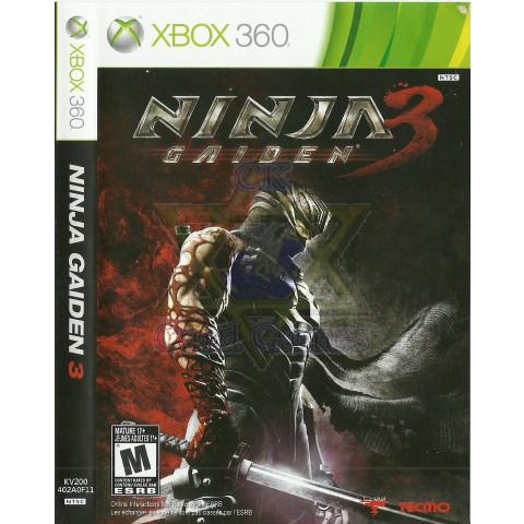 Ninja Gaiden 3 - Jogo - Xbox 360 (Seminovo)