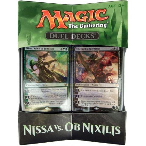 Nissa vs. OB Nixilis - Duel Deck - MTG