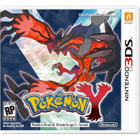 Pokémon Y - Jogo - 3DS (Seminovo)