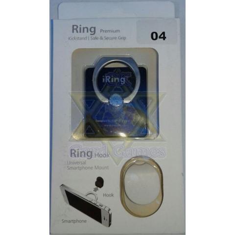 Preta - Anel Suporte Telefone Celular - iRing