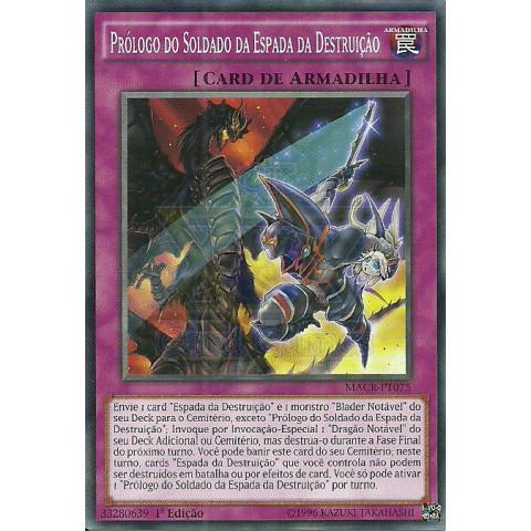 Prólogo do Soldado da Espada da Destruição / Prologue of the Destruction Swordsman