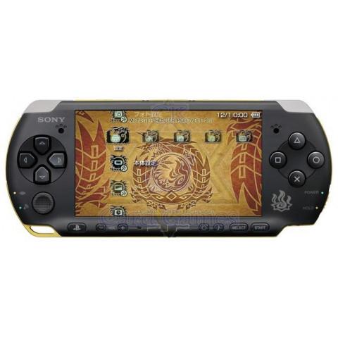 PSP-3000 Monster Hunter Edition - Desbloqueado - Seminovo