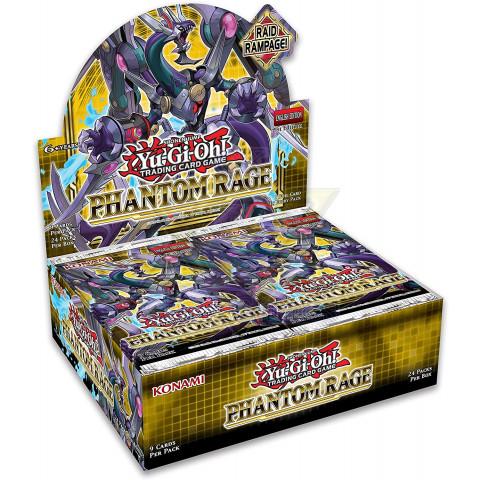 Fúria Fantasma - Pacote de Melhoria / Phantom Rage - Booster Pack - Yu-Gi-Oh! - YGO PHRA-PT Booster (Pré-venda)