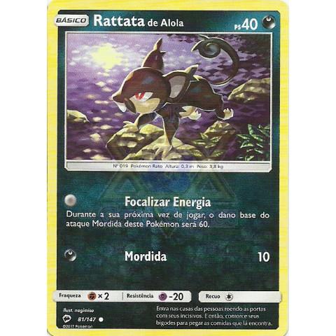 Rattata de Alola / Alolan Rattata (Burning Shadows 81)
