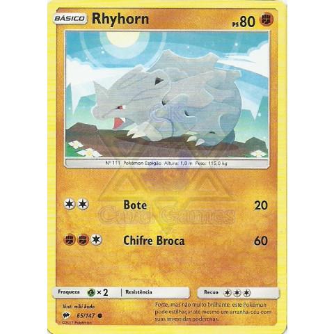 Rhyhorn (Burning Shadows 65)