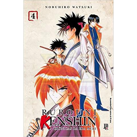 Rurouni Kenshin #04 - Mangá