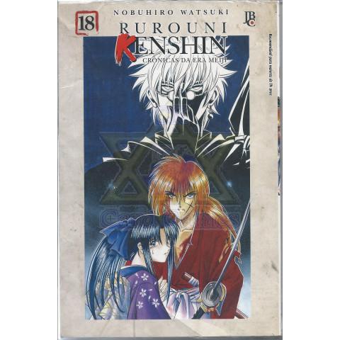 Rurouni Kenshin #18 - Mangá