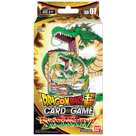 Shenron's Advent Starter Deck (Sem Caixa)