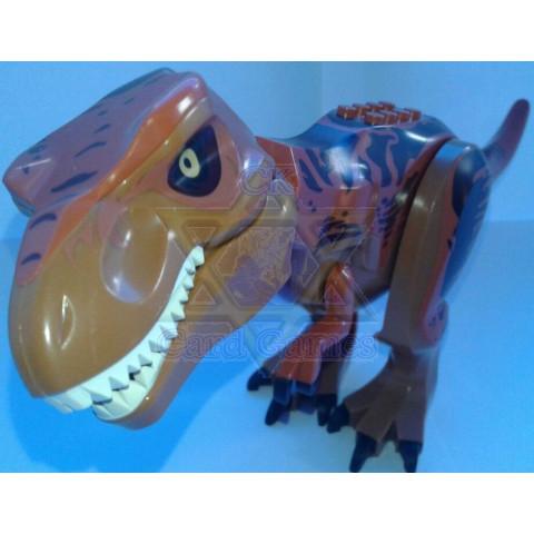 T-Rex G - Jurassic Park - Miniatura - Blocos