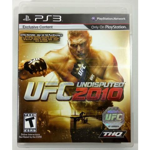 UFC Undisputed 2010 - Jogo - PS3 (Seminovo)