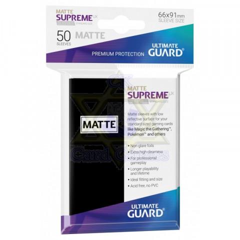 UG Sleeve Avulso G Matte Black 66x91mm