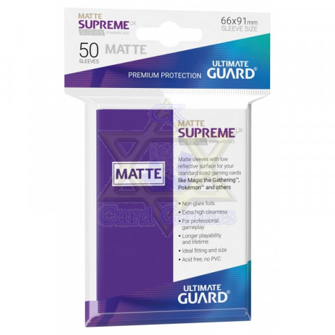 UG Sleeve Avulso G Matte Purple 66x91mm