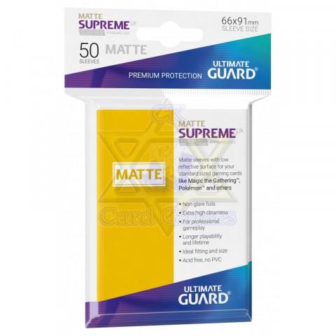 UG Sleeve Avulso G Matte Yellow 66x91mm