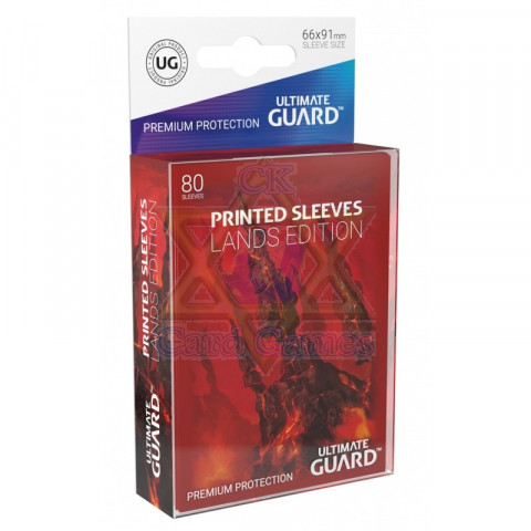UG Sleeve Avulso G Mountain I Printed Sleeves Lands Edition 66x91mm