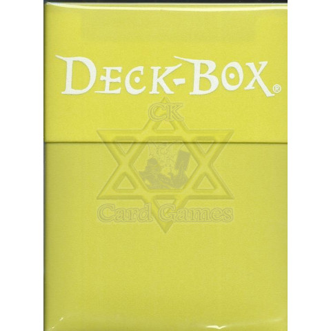 UP Deck Box Bright Yellow