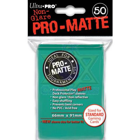 UP Sleeves G c/50 Matte Aqua