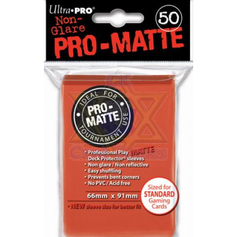 UP Sleeves G c/50 Matte Peach