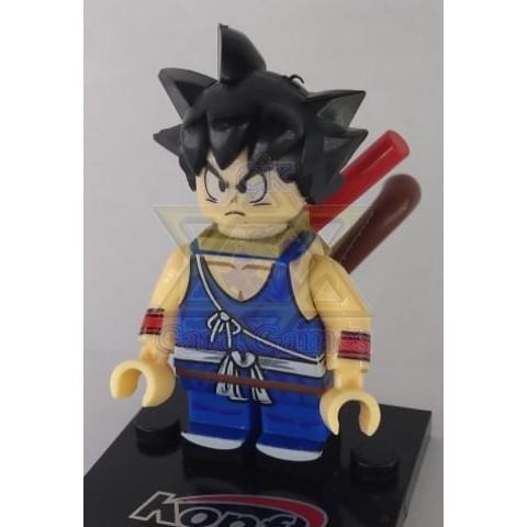 Goku Criança 2 - Dragon Ball - Miniatura - Blocos