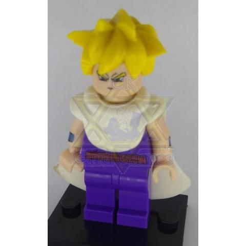 Gohan Adolescente de Capa SSJ1 - Dragon Ball - Miniatura - Blocos