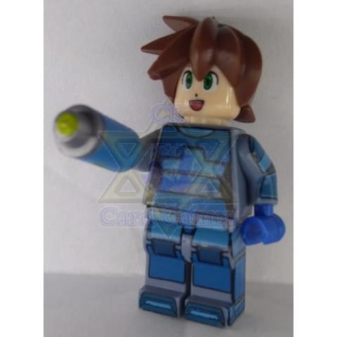 Mega Man Volnutt - Mega Man - Miniatura - Blocos