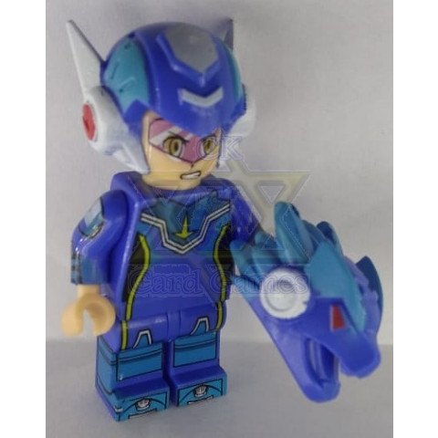 Star Force Mega Man - Mega Man - Miniatura - Blocos