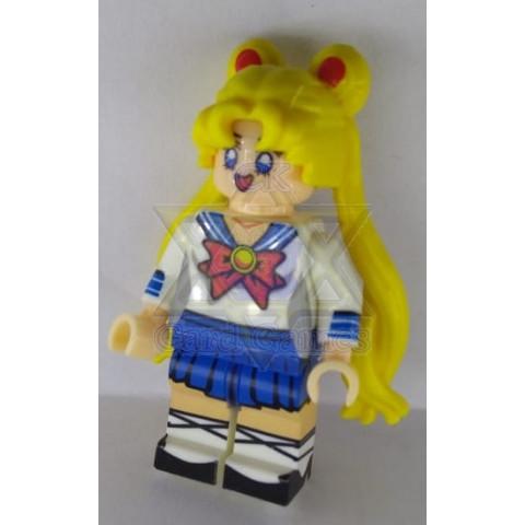 Sailor Moon (Serena Tsukino) - Sailor Moon - Miniatura - Blocos