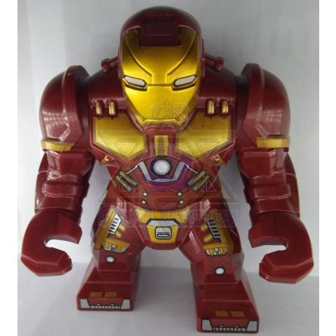 Homem de ferro Caça-Hulk - Marvel - Miniatura - Blocos