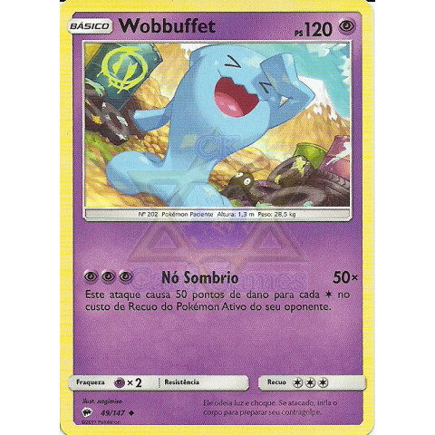 Wobbuffet (Burning Shadows 49)