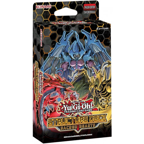 Bestas Sagradas - Deck Estrutural - Yu-Gi-Oh! / Sacred Beasts  - Structure Deck - Yu-Gi-Oh!