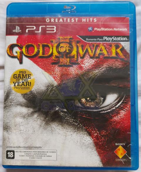 God of War 3 Greatest Hits - Jogo - PS3 (Seminovo)