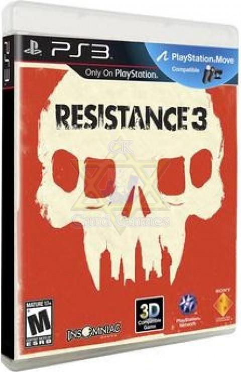 Resistance 3 - Jogo - PS3 (Seminovo)