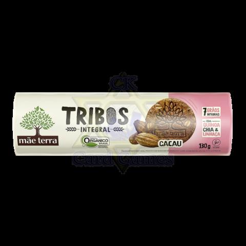 Biscoito Integral Orgânico Mãe Terra Tribos Cacau 130g