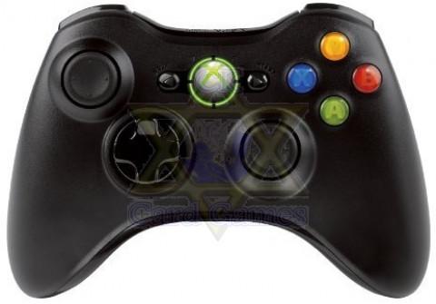 Controle s/ Fio Preta - Xbox 360 - Seminovo