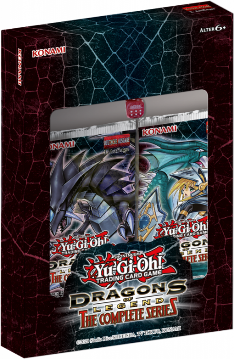 Dragões das Lendas: A Série Completa - Conjunto de Colecionador / Dragons of Legend: The Complete Series - Collector's Set - YGO DLCS-PT Box (encomenda)