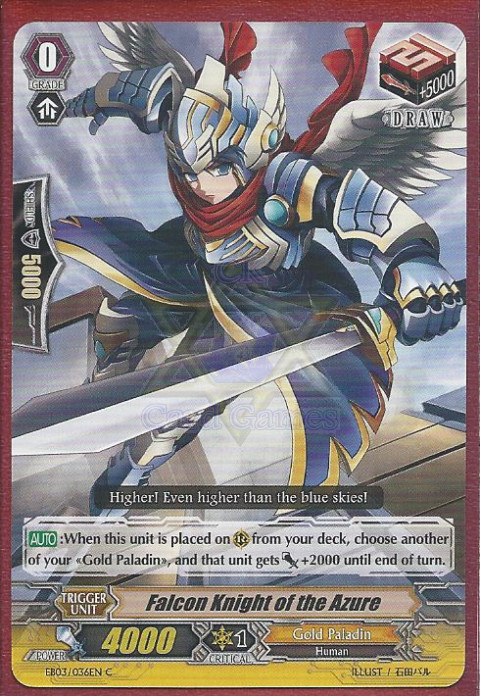 Falcon Knight of the Azure