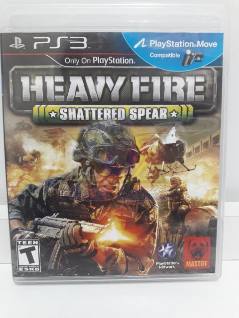 Heavy Fire: Shattered Spear - Jogo - PS3 (Seminovo)