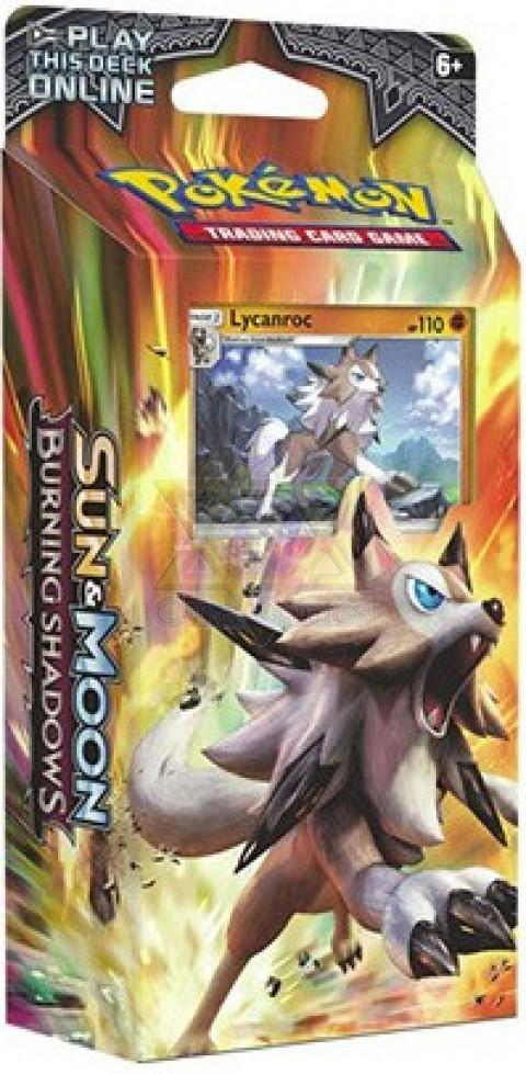 Lycanroc - Rocha Confiável - Sombras Ardentes - SM03 - Deck Temático / Lycanroc - Rock Steady - Burning Shadows - SM03 - Theme Deck