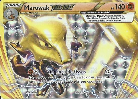 Marowak TURBO / Marowak BREAK
