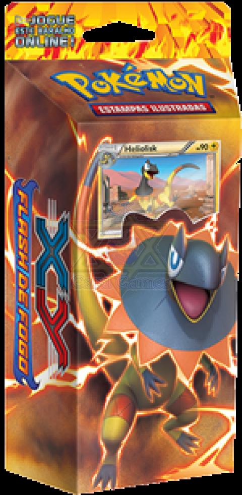 Trovão Reluzente: XY2 – Flash de Fogo! Deck